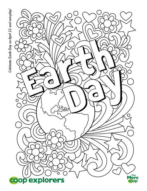 ColoringSheet EarthDay2