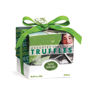 Seattle Chocolate Truffles   Seattle Chocolates have been delivering smooth, all natural satisfaction in every bite since 1991.