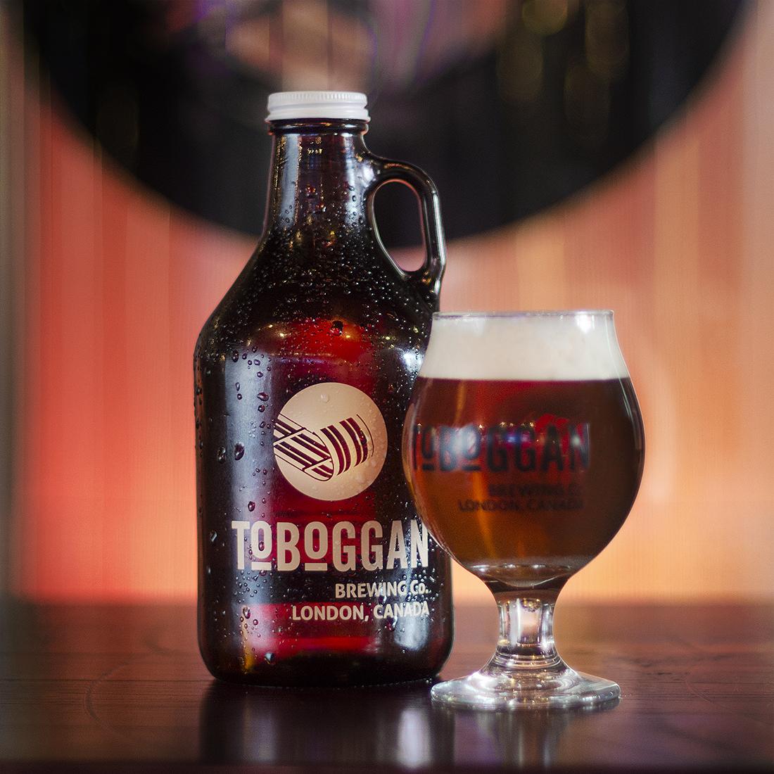 Toboggan Brewing Co Growler