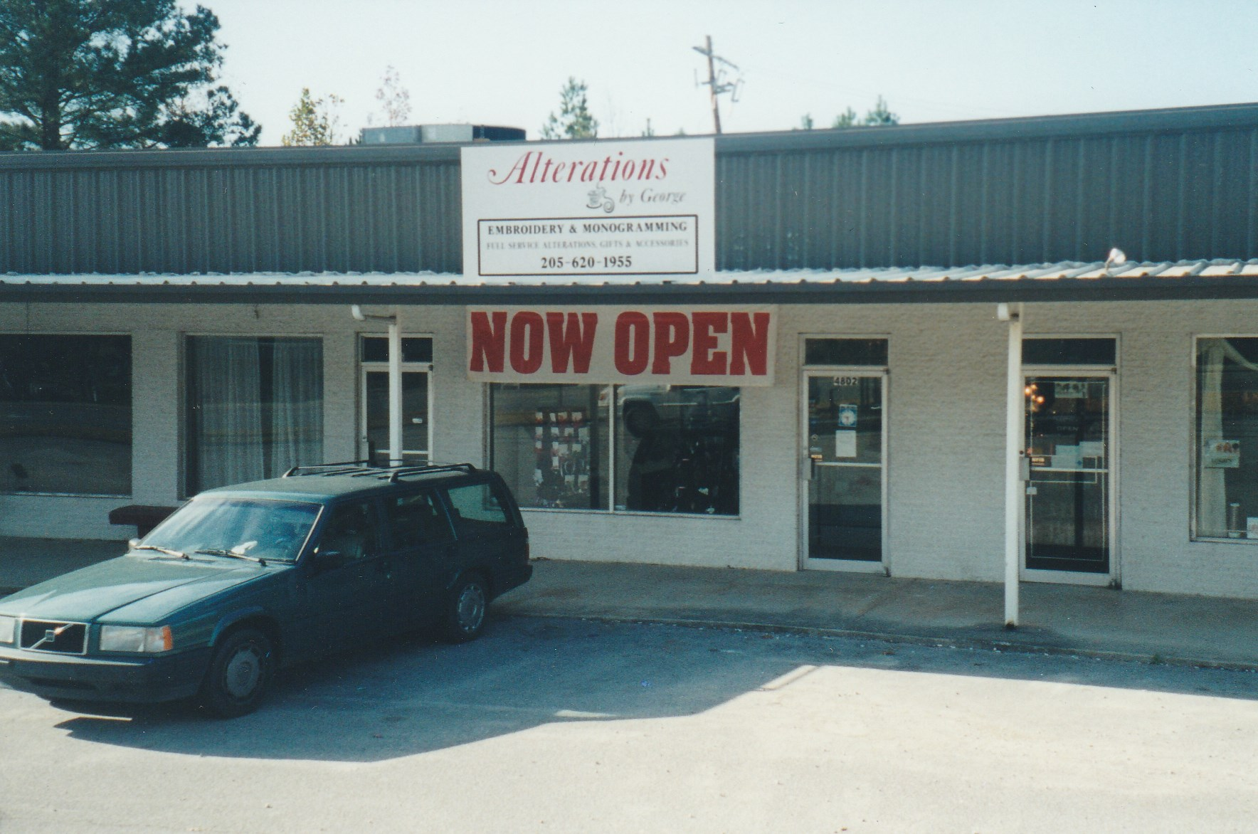 By George (Alterations, By George) at its original location in 2002.