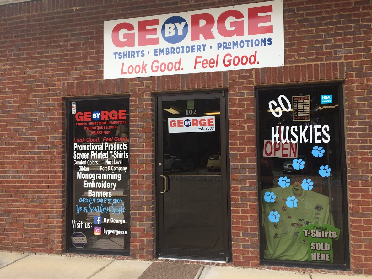 By George's current storefront off of County Road 52
