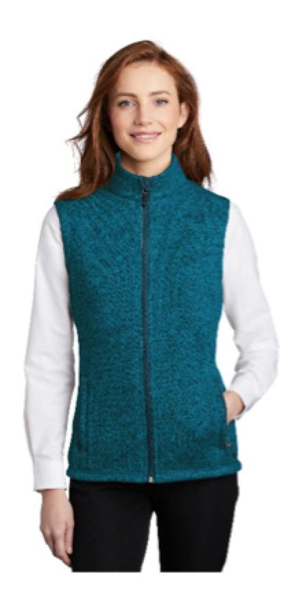 Pork Authority Sweater Fleece Vest retails for $40.00