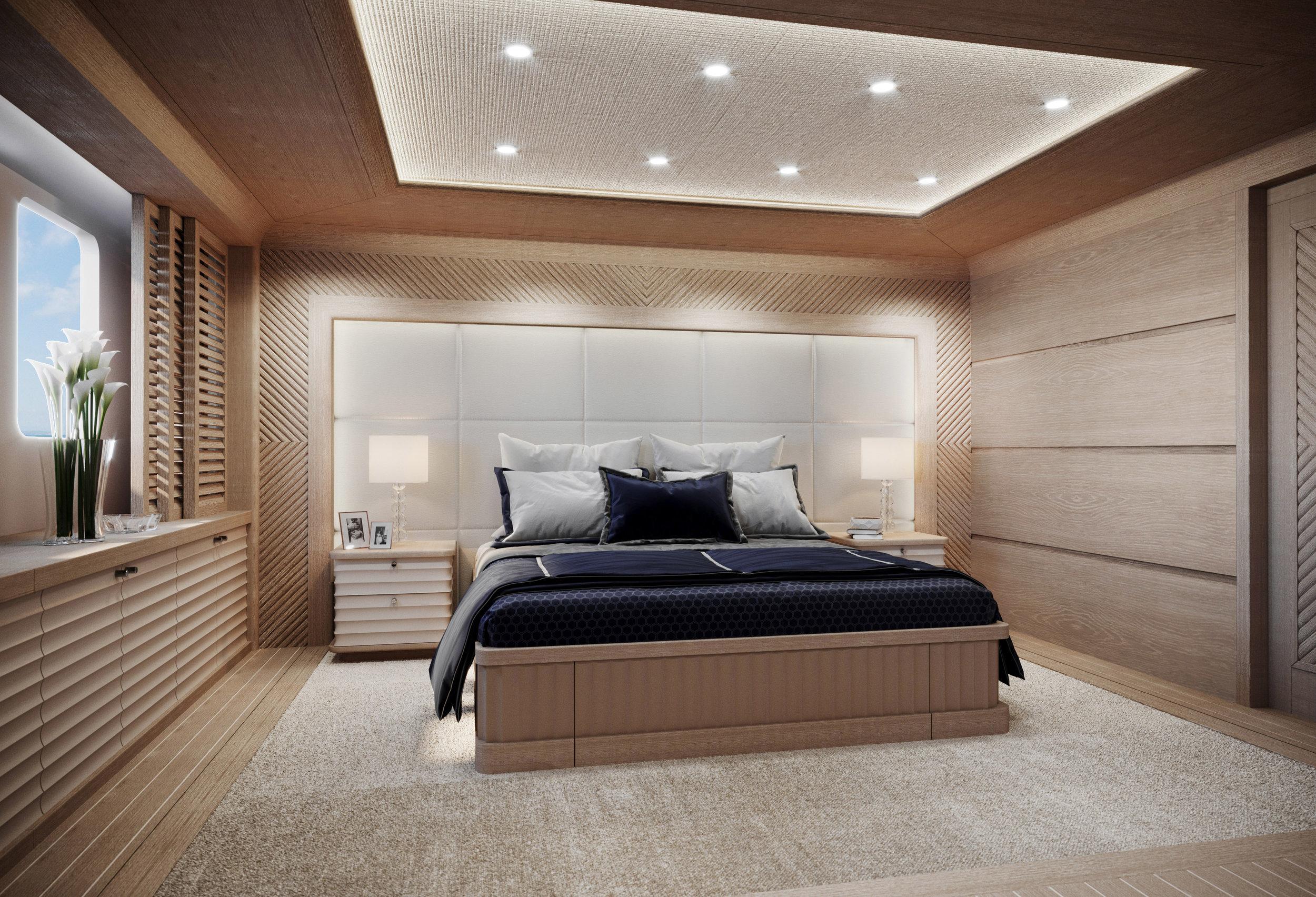 M/Y Navtilvs 380' - master cabin proposal