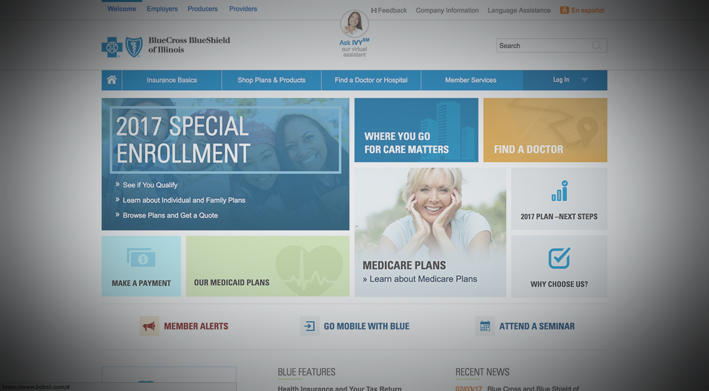 BLUE CROSS AND BLUE SHIELD OF ILLINOIS -
