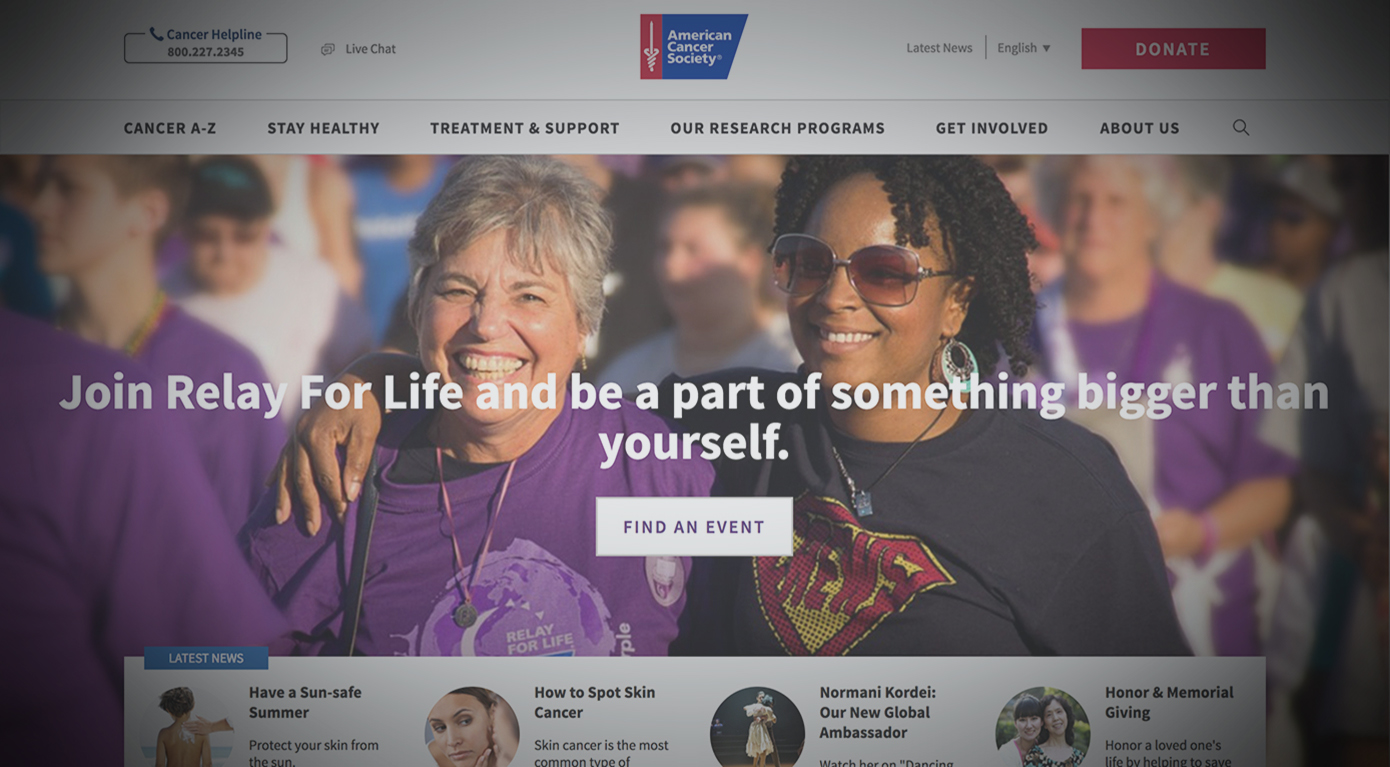AMERICAN CANCER SOCIETY -