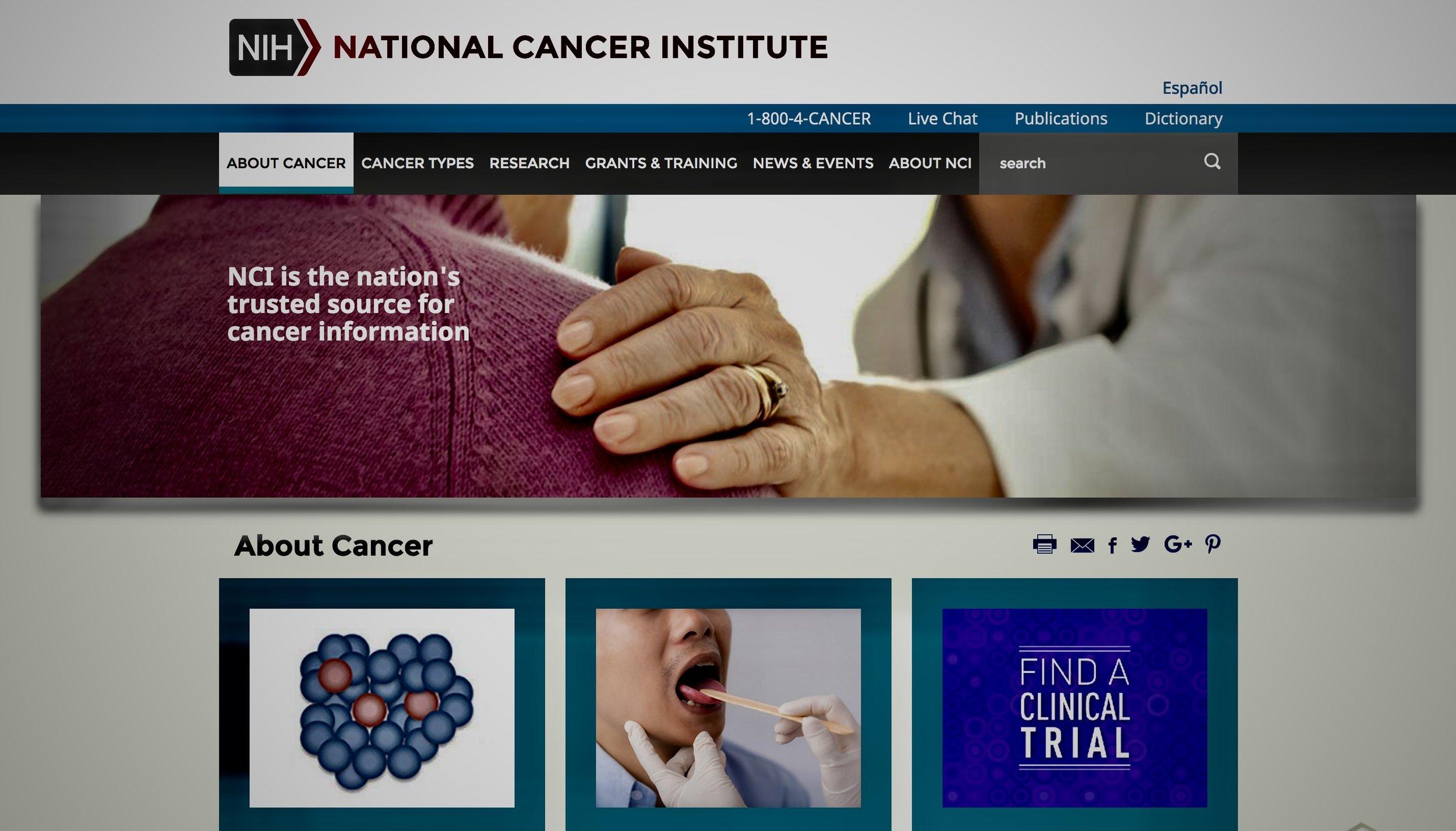 National Cancer institute -