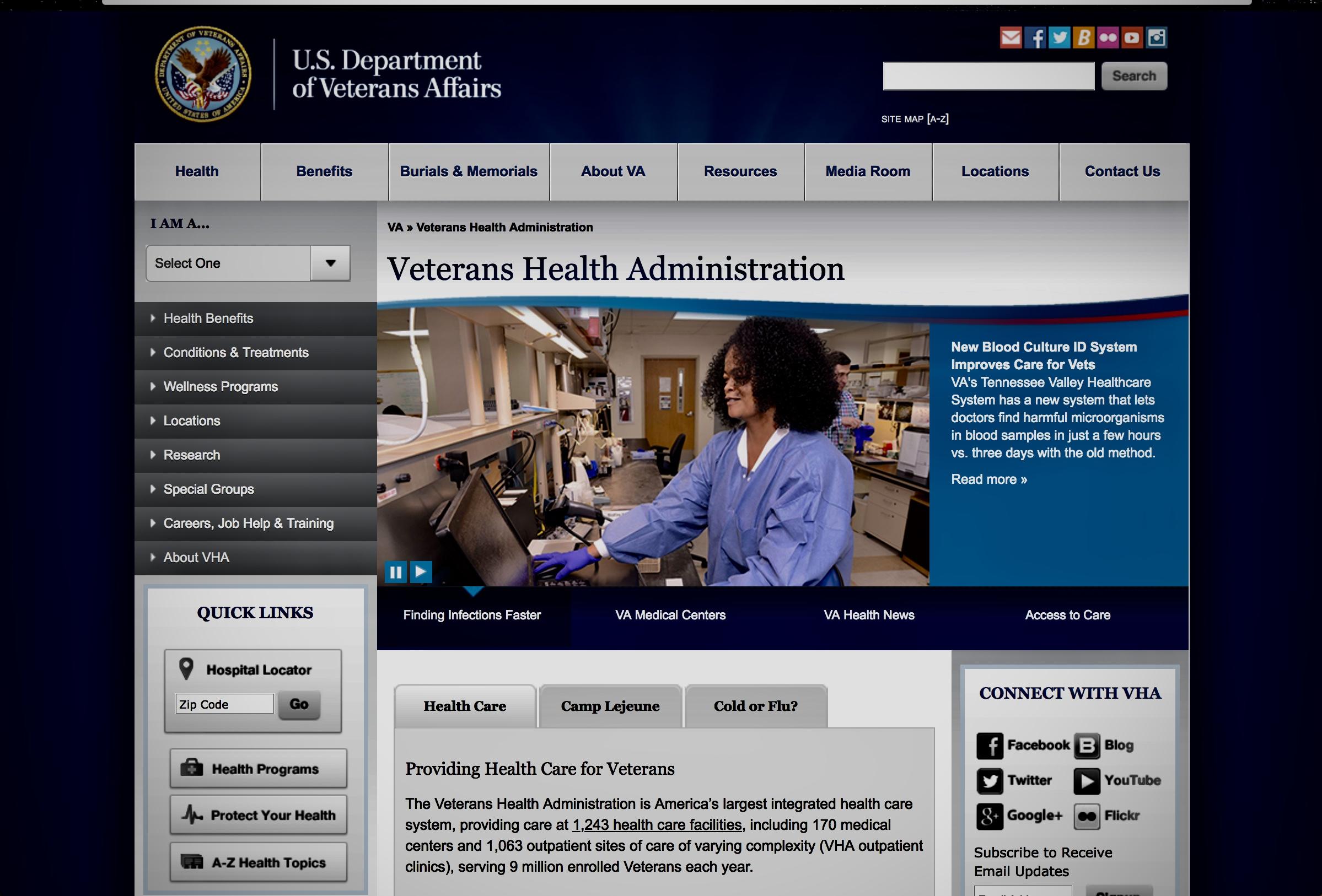 veteran's health administration -