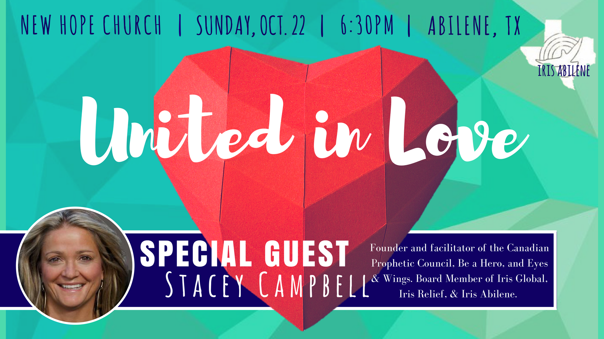 united in love stacey campbell abilene texas new hope church
