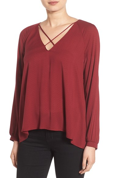 Luch Strappy Long Sleeve