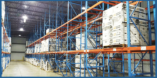 cross Docking re-stacking re-palletize export documents stamping monitoring