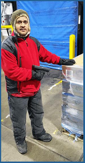 Nebraska Cold Storage freezing storage rapid air defrost reel time inventory
