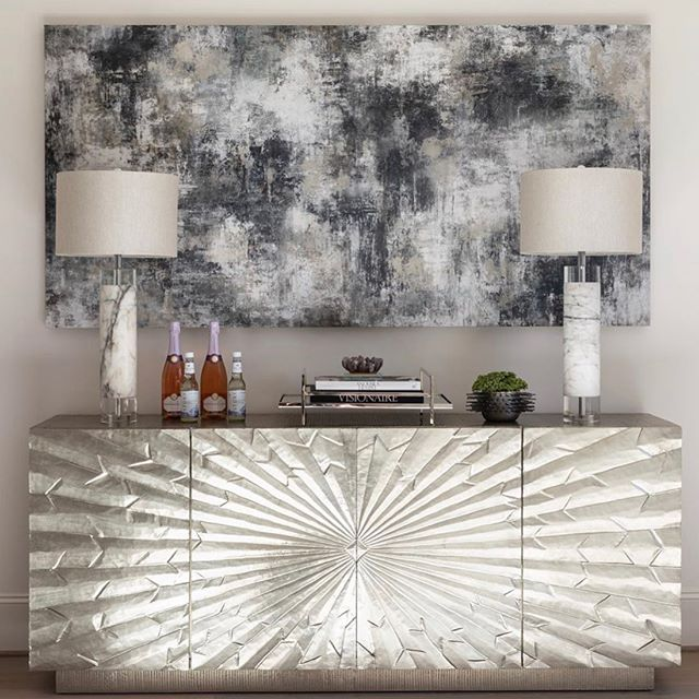 It's time for a new project! Everything from my favorite store @highfashionhome serves up the best inspiration !  #consoletable #interiordesign #livingroom #highstyle #glamlivingroom #bebold #designhomewithfriends #getcreative #makeitahome #newhouse #buffet