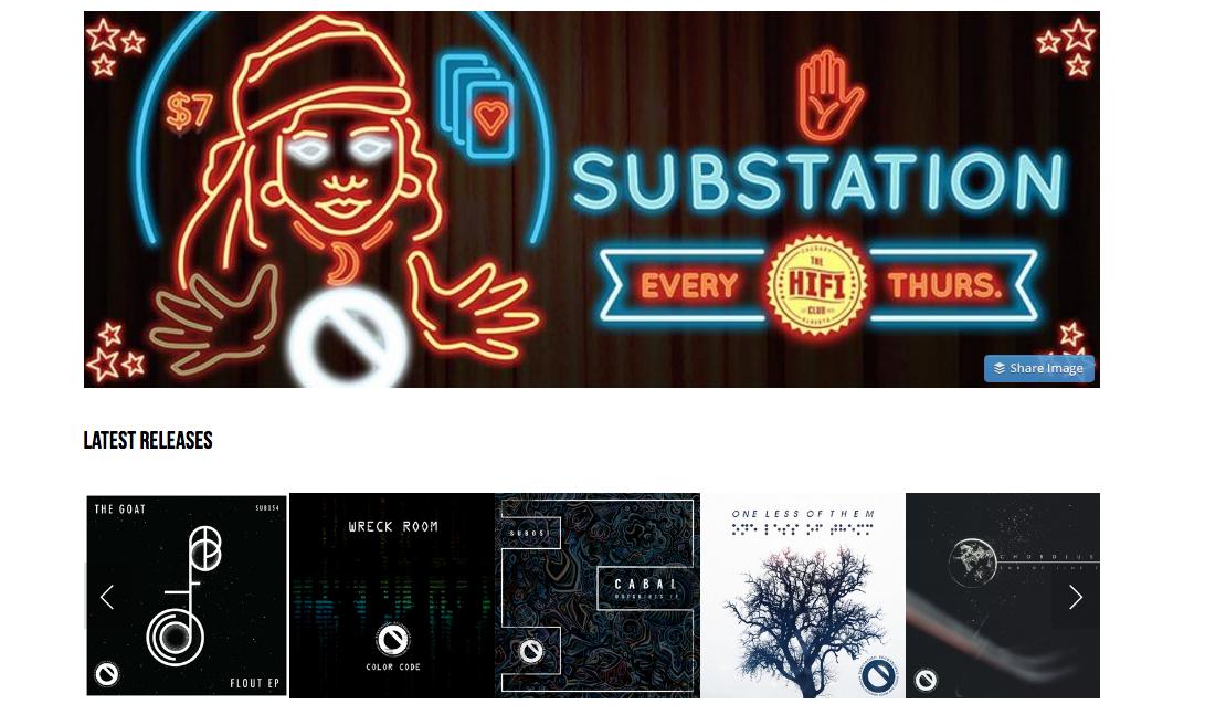 Substation Records Calgary