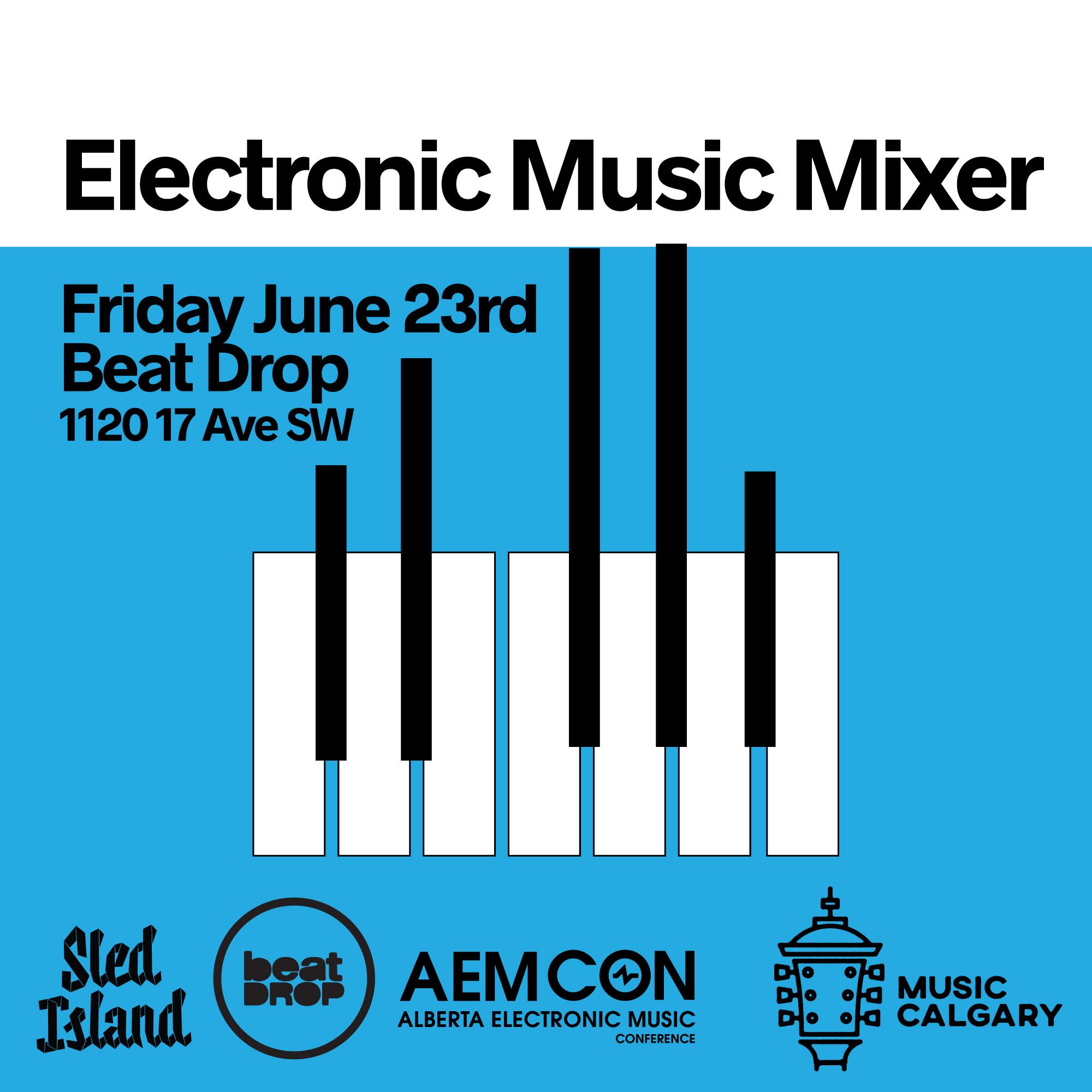 Sled Island, Alberta Electronic Music, AEMCON