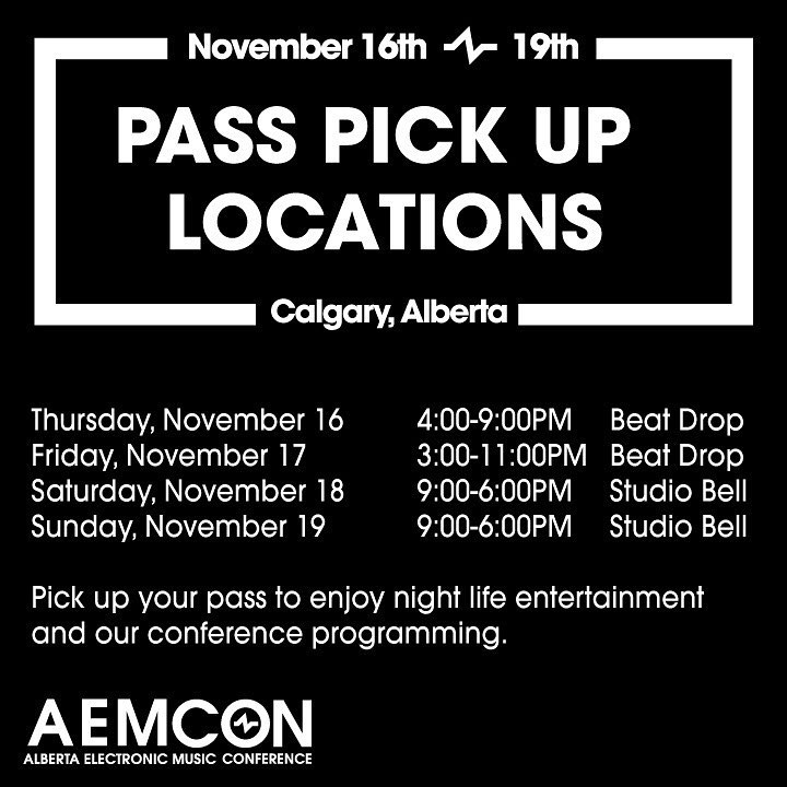 Pass Pick-up Info