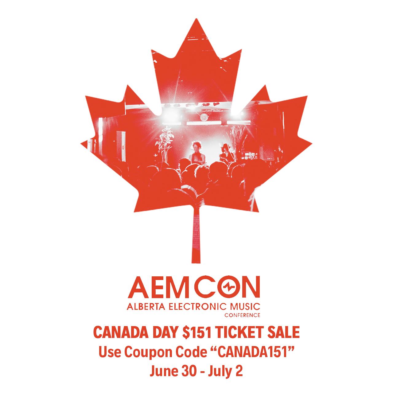 Canada Day AEMCON Promo