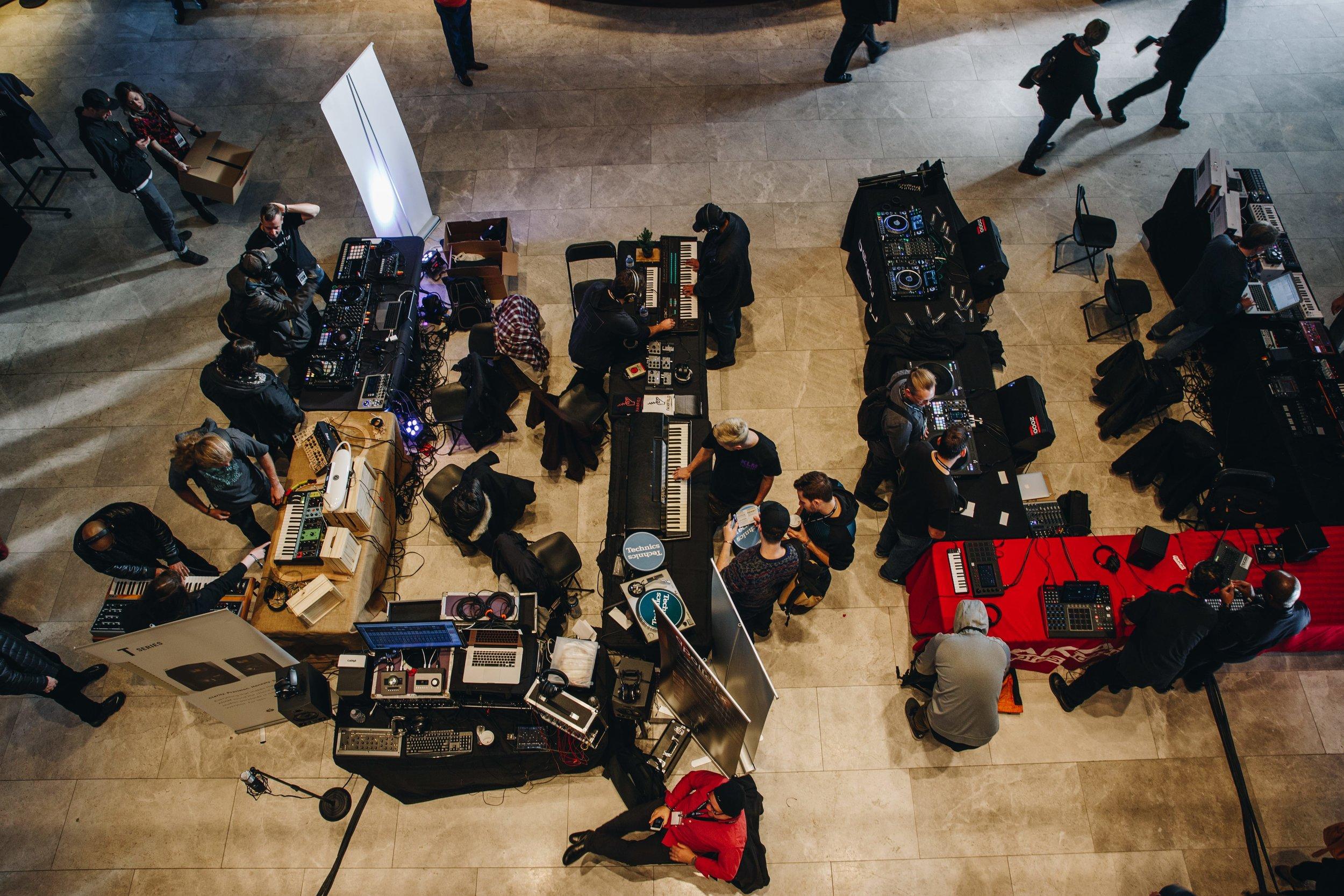 The AEMCON Marketplace Photo by Allan Cao