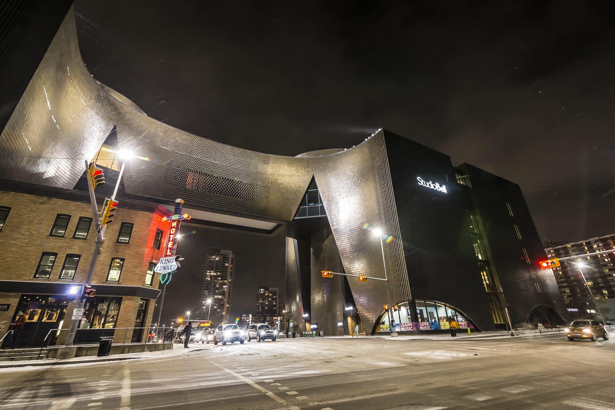 Studio Bell, Photo by Concert Socks