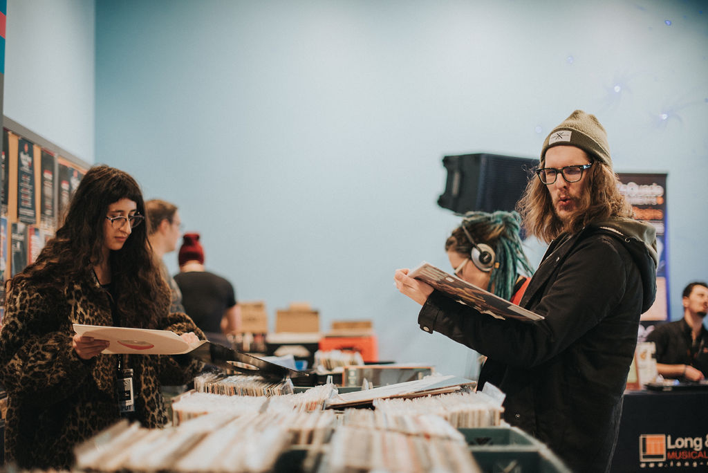 The Vinyl Swap hosted by Dead Vinyl Society, Photo by Leigh-Anne Hazard