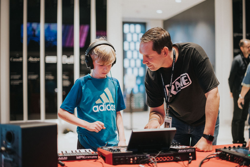 Inspiring, elevating, and educating the next generation of electronic music professionals. Photo: Leigh-Anne Hazard