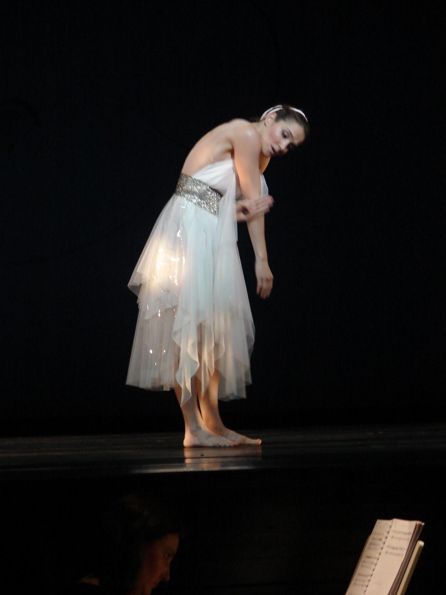 Pygmalion- sophie Karthauser as the Nightingale