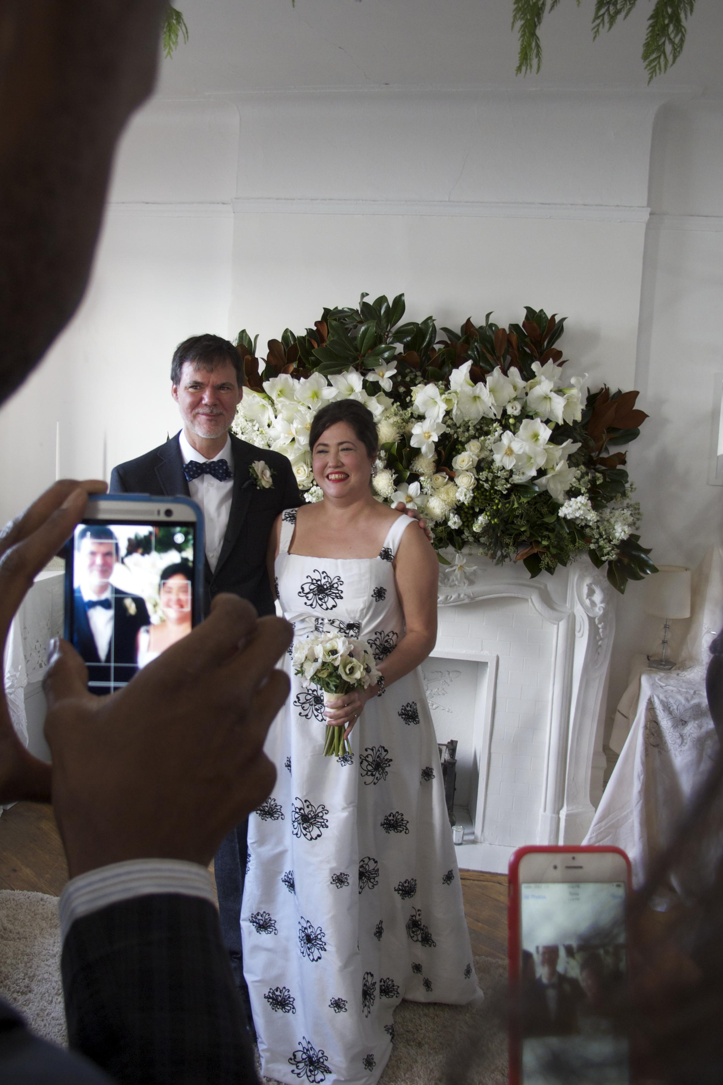 Artisan Home Wedding dress/ Silk with embroidery