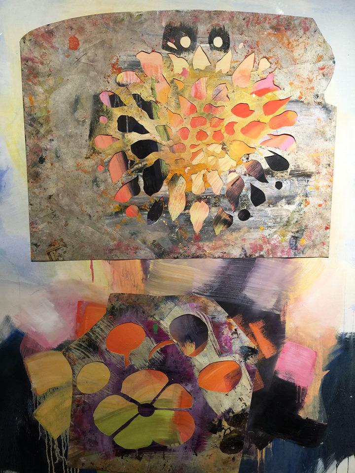 Mary Jones painting at John Molloy Gallery NYC
