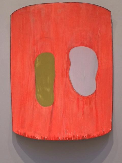 Ron Gorchov Orange Khaki .jpg