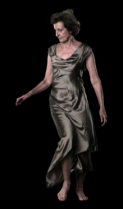 "A still from the film  ""Slow Dancing"" by David Michalek  dress: Elizabeth Cannon"