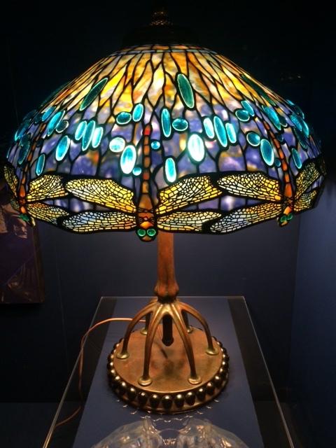 Tiffany Lamp at the N.Y. Historical Society