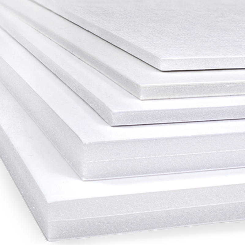 Foam Boards - These lightweight foam boards are the economical choice for professional looking prints.