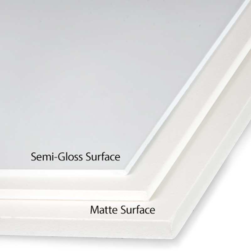 PVC Boards - Built to last using White Palight® Premium Substrate