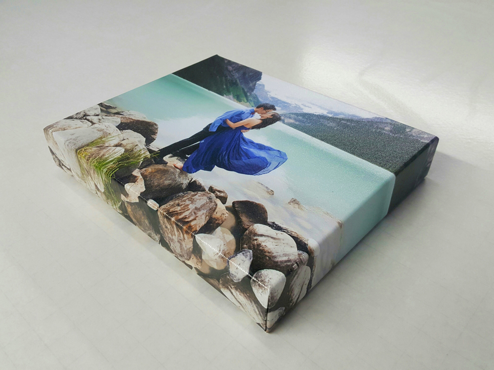 Gallery Wrap with Mirrored Edges