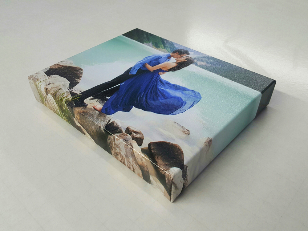 Gallery Wrap with Natural Wrap