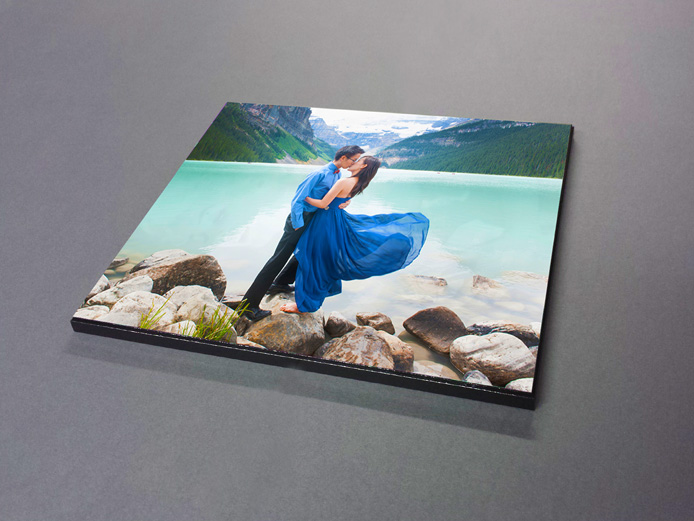 """MOUNTED PHOTO PRINTS - Our Mounted Photo Print is your digital image printed out onto our premium photopaper, then mounted to a 3/8"""" MDF board where a UV protected lamination is applied. We finish the product with a pre-cut hanger slot in the back for easy hanging and a black or white beveled edge. This is a great product for anyone who likes the aesthetic of a matte finish and wants a durable, easy to clean product. Read more…"""
