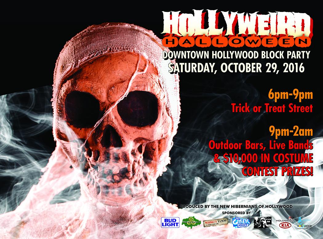 Downtown Hollywood Halloween Hollyweird 2020 Hollyweird Halloween Block Party — Stephens Distributing Company