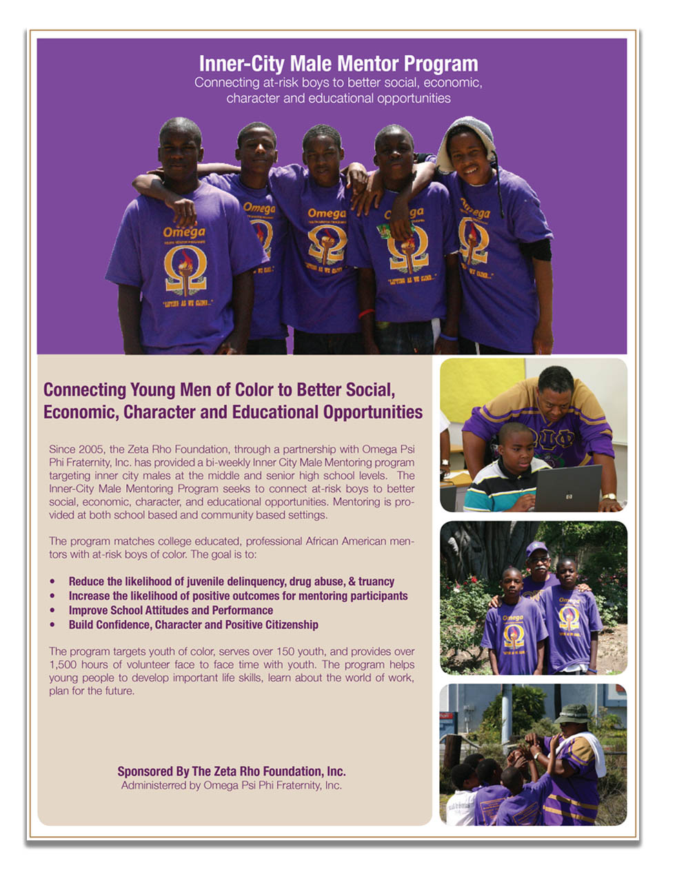 Youth Mentor Brochure
