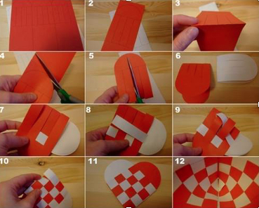 Quick guide to making Julehjerte (Christmas Hearts)