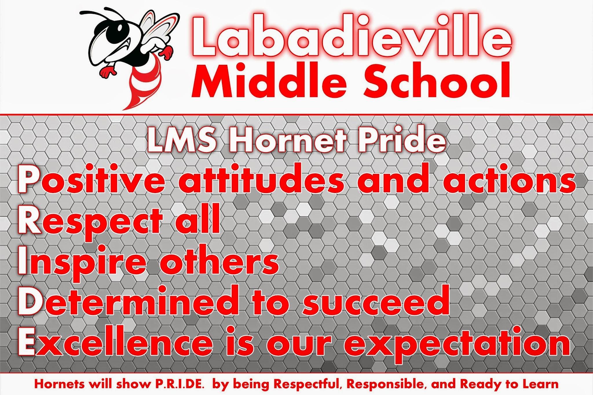 Labadieville Middle — Assumption Parish Schools