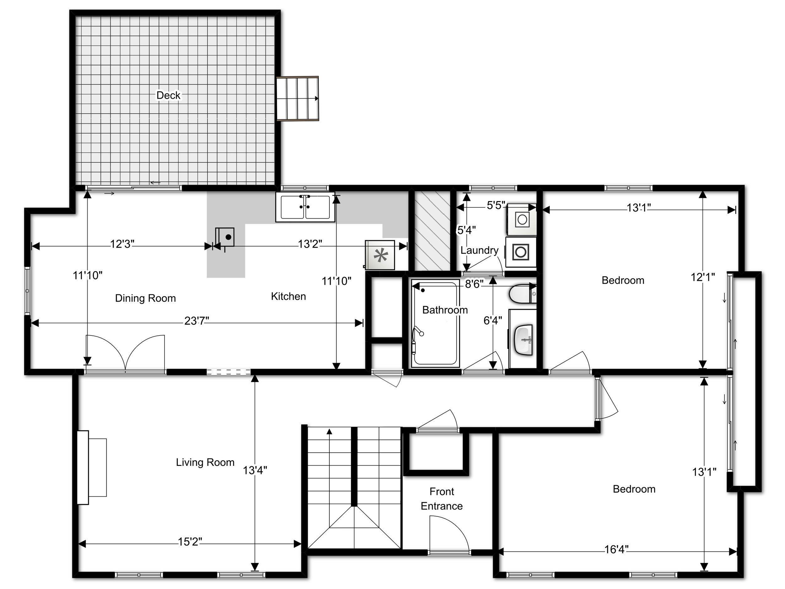 Laser Measured Floor Plans   Highly accurate and detailed floor plans of your listing, measured during or independent of a photo session. Floor plans are delivered as printable .pdf, as well as live, interactive web tours (if photos are also purchased.) Live floor plan tours are available in both custom branded with your branding, and un-branded to ensure compliance with MLS.
