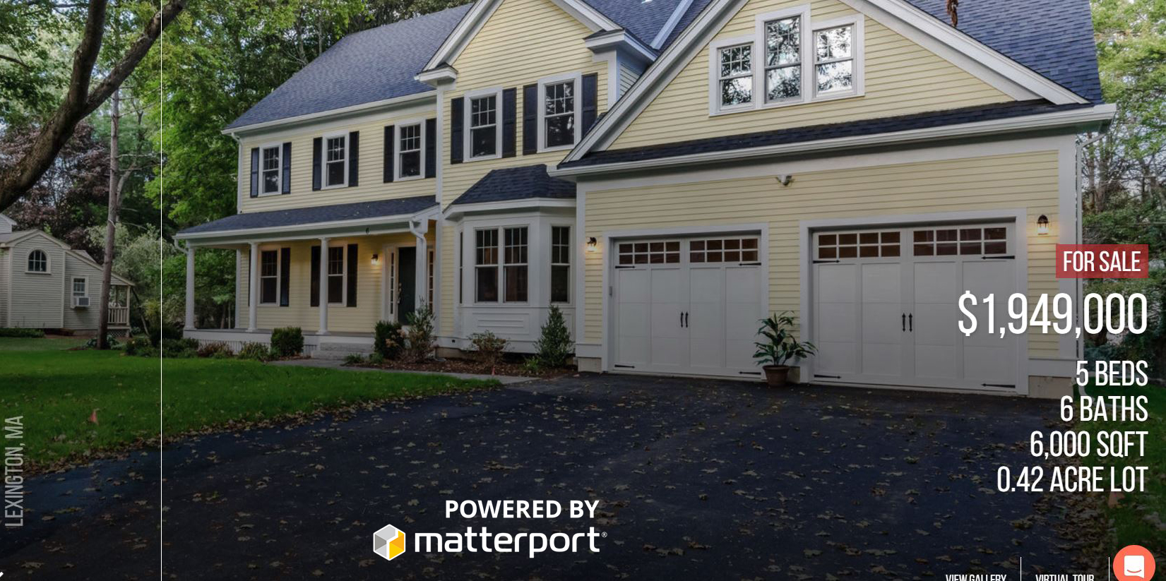 REAL ESTATE TOTAL+ 3D: - Approximately 30 magazine quality property photos delivered within 24-36 hoursCustom property website with MLSPIN link3D Walkthrough virtual tour powered by MatterportLaser-measured branded printable floorplanIncluded print and web marketing tools