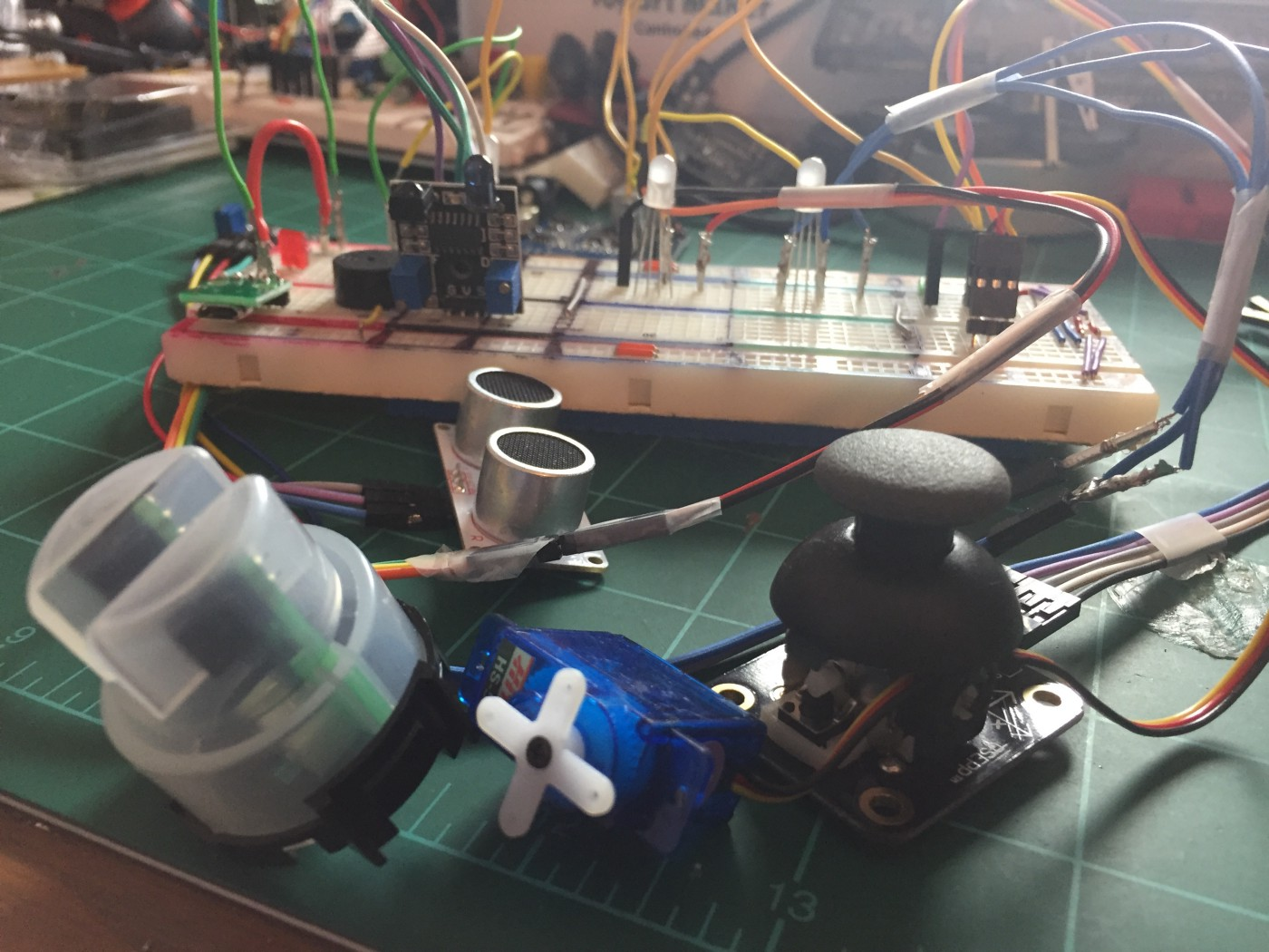 Hacking away at a Smart Water Quality meter