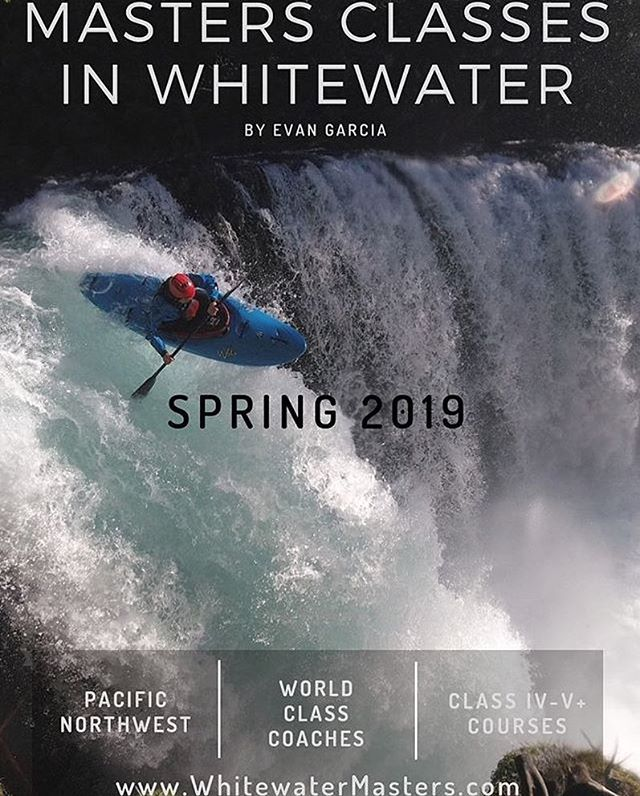 @egthekilla is putting on a series of whitewater kayaking clinics in the spring of 2019! Check out his most recent post for more info
