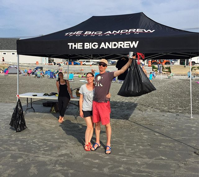 BEACH CLEAN TOMORROW! Saturday July 6th, 2019 at 7 am! Look for the BigA tent in front of the Long Sands Bathhouse. We'll provide the gear, all you need to do is bring a friend!  #unitedstatesandoceansofamerica #beachcleanup #ybme #thisonesforandrew