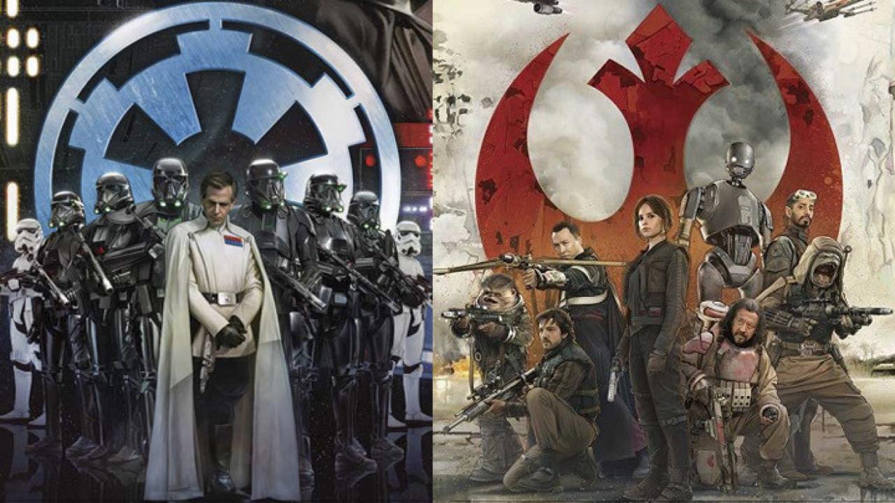 Filmposter Rogue One: A Star Wars Story / © Walt Disney Pictures, Lucasfilm Ltd. LLC 2016