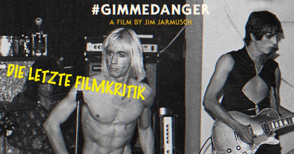 Originalbild: Filmposter Gimme Danger / © Danny Fields & Magnolia Pictures 2016