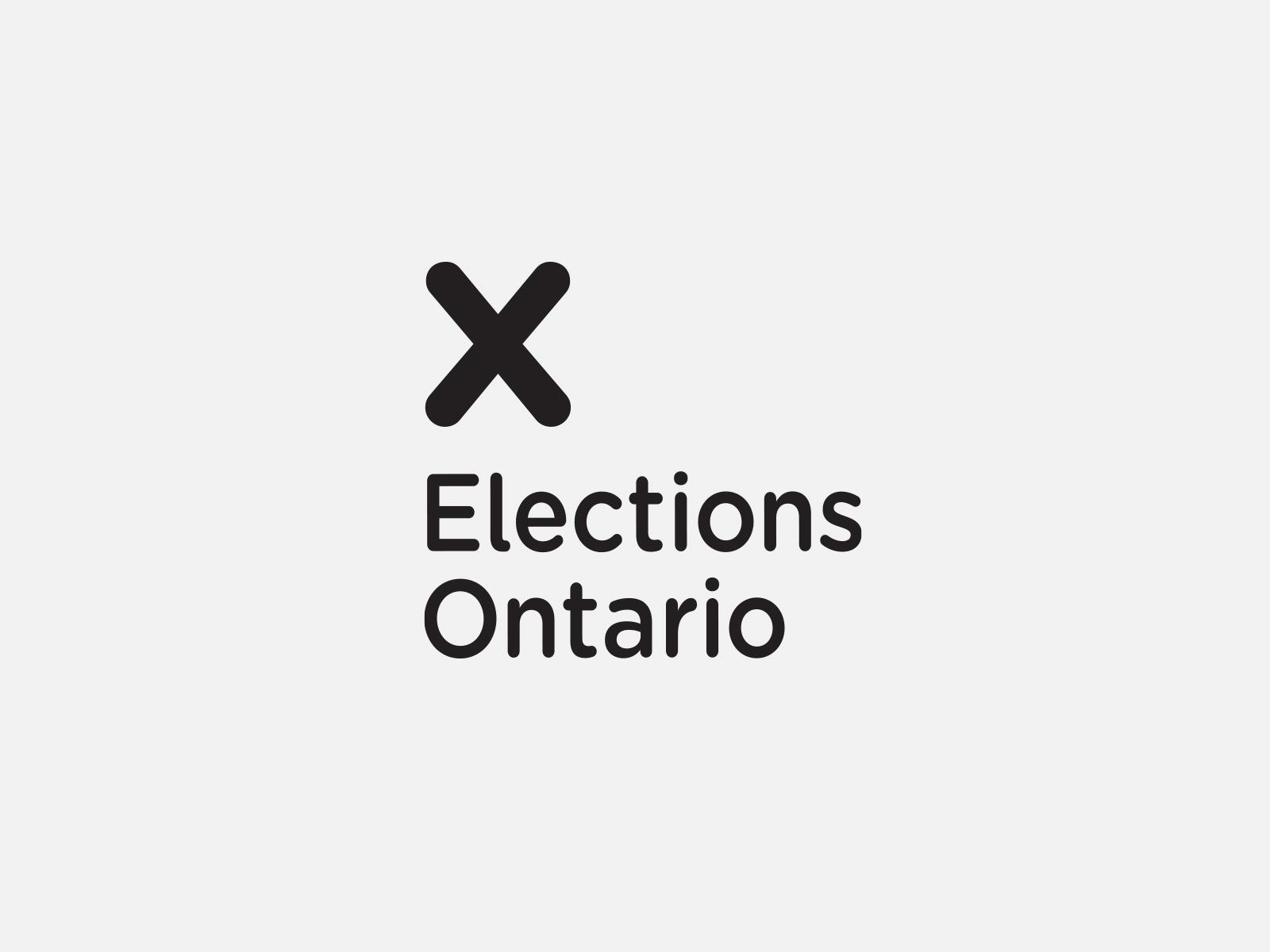Elections Ontario by Leo Burnett Design