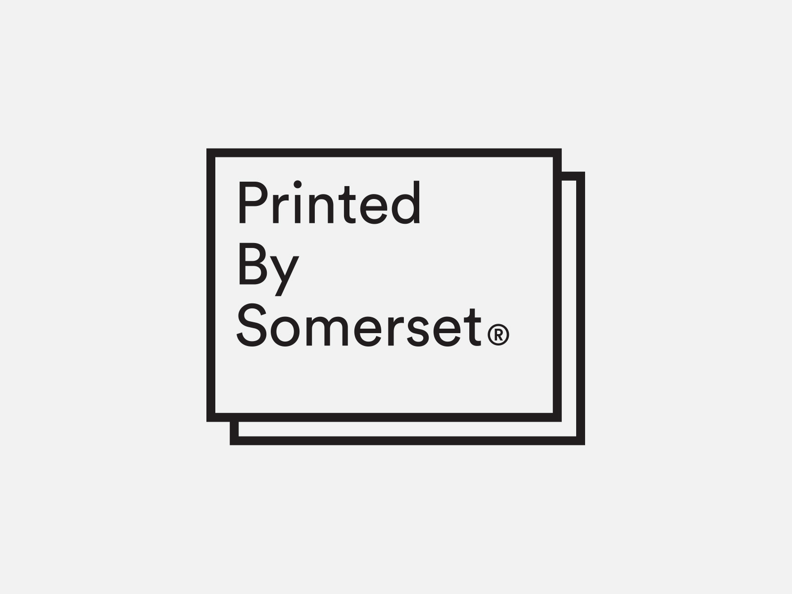 Printed by Somerset by Leo Burnett Design