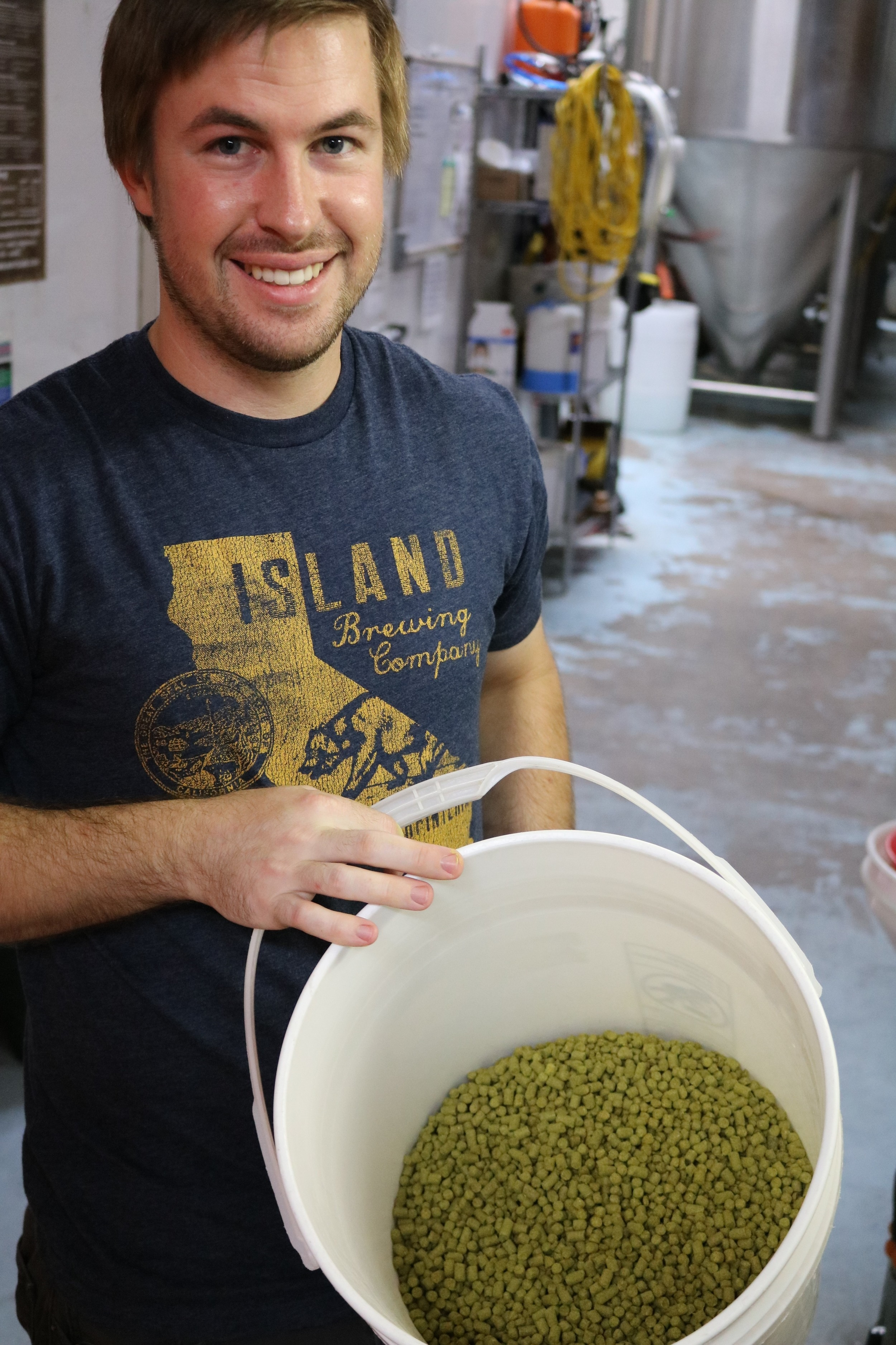 Assistant Brewer Treven Yothers
