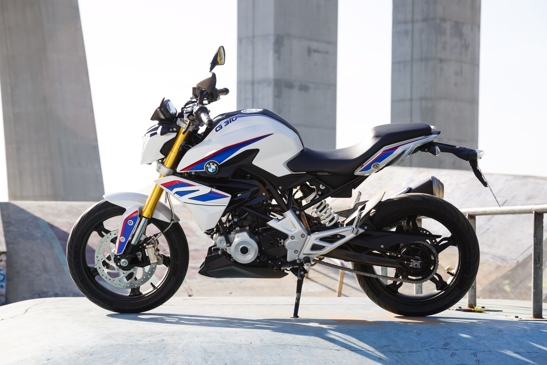 BMW G 310 R shown here